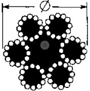 Galvaniseret stålwire