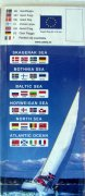 Gjesteflagg, områdepakker 4 stk. pr. pakke