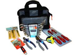 Verktygsväska med verktyg