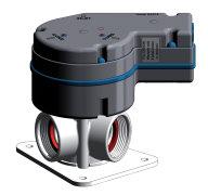Elektronisk Y-ventil