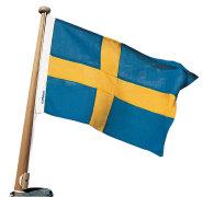 Båtflagg polyester.No-Sv-Dk-Fi-De
