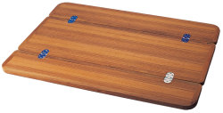 Bordplade Miami teak klapbord