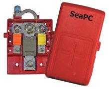 Säkringsbox för båtbatterier