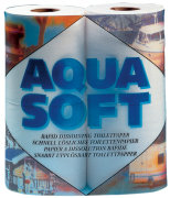 WC-paperi Aqua Soft