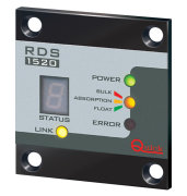 Batterilader panel fjernkontrol