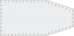Formskuren Båtpresenning  240g/m2