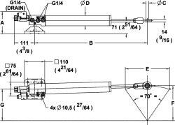 Lineær kontrollenhet for seilbåter ST4016