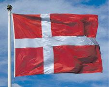 Danmark nationalflag - forskellige str.