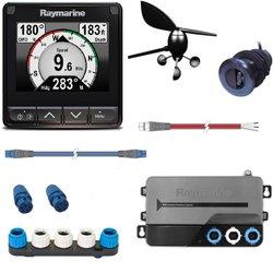 Raymarine i70s Startpakke, vind og trippelgiver