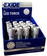 Lommelygte med 9 LED-pærer